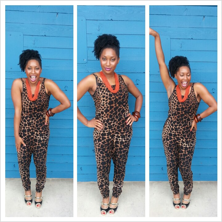 Ndidi Cheetah Suit