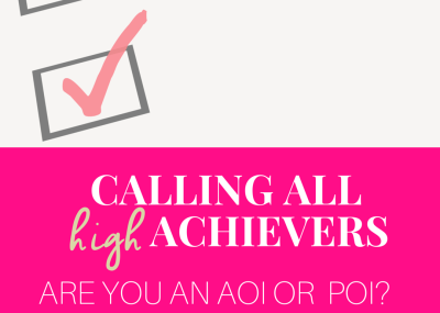 Calling all high achievers