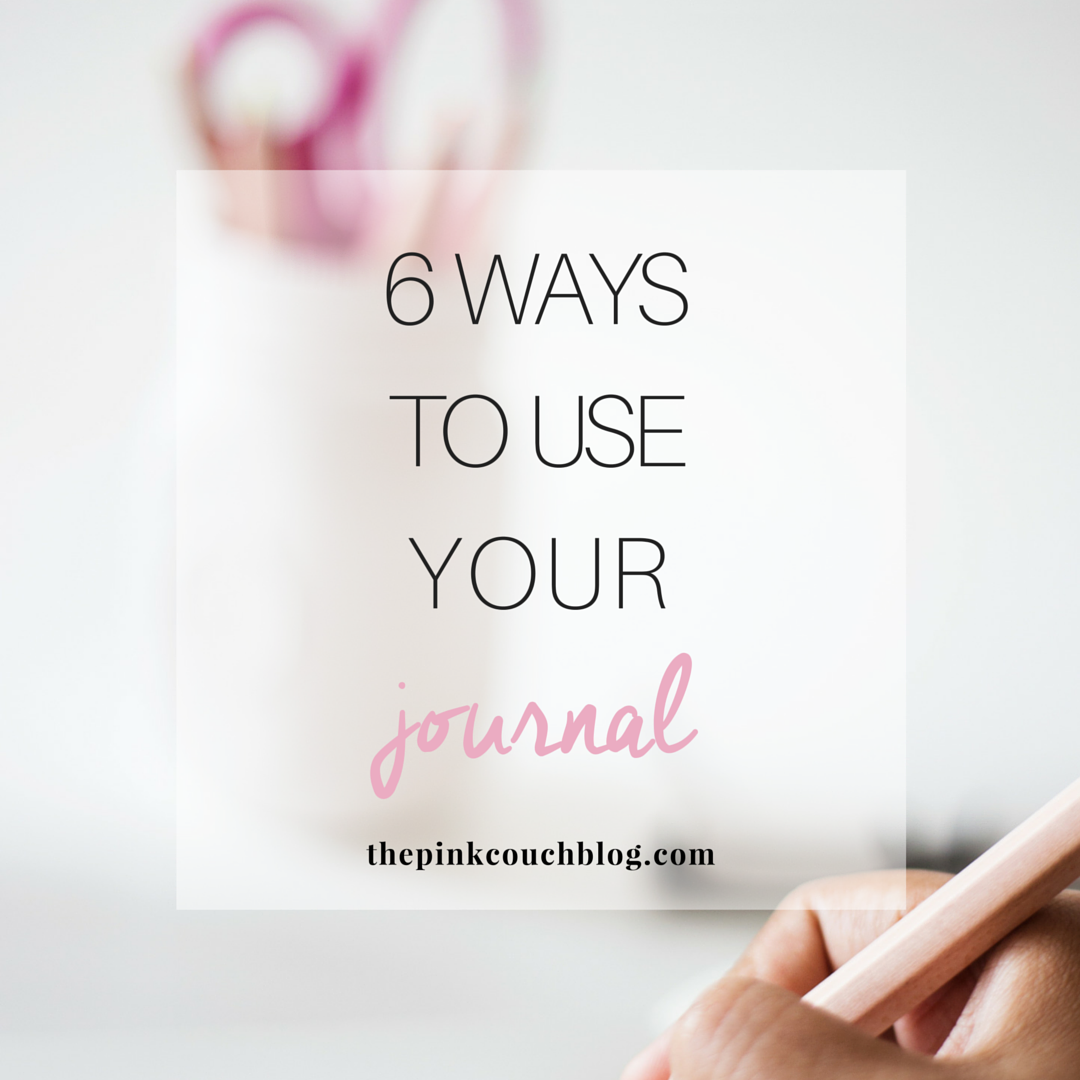 6 Ways To Use Your Journal - IG