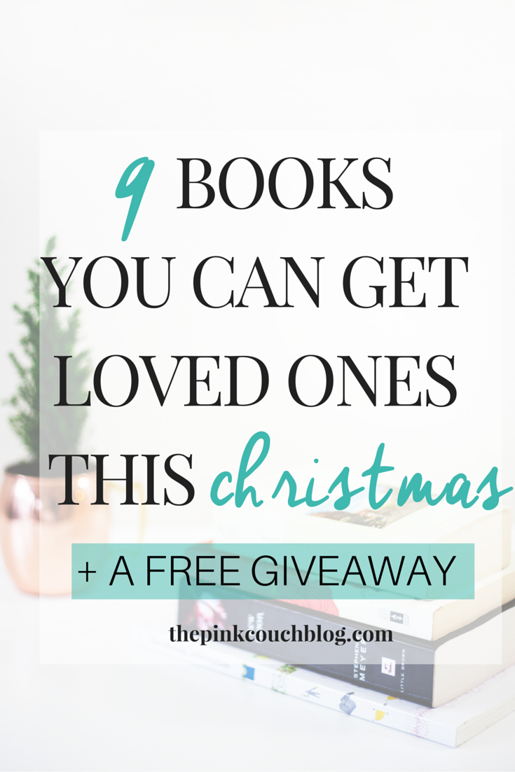 9 INSPIRATIONAL BOOKS YOU CAN GIVE AWAY THIS CHRISTMAS